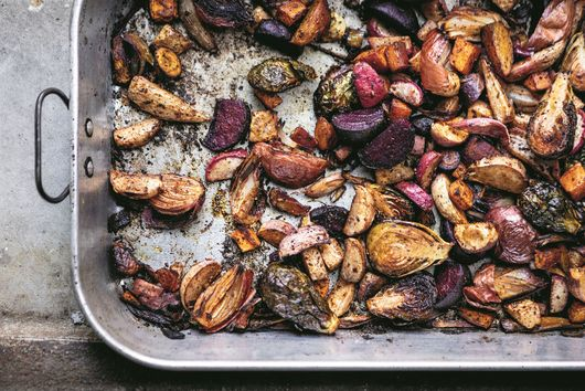 Sumac Roasted Vegetables with Fennel Seeds