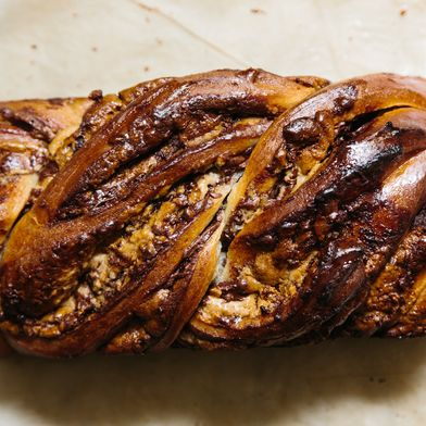 Halvah and Nutella Babka
