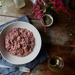 The Most Wonderfully Unusual Strawberry Risotto