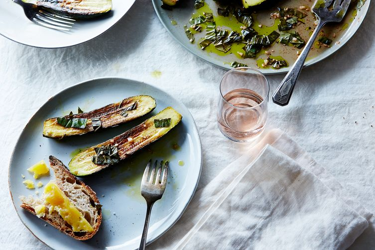 Canal House's Marinated Zucchini
