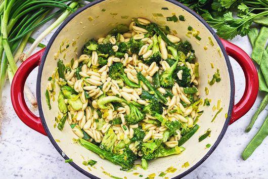 Green Pasta Primavera