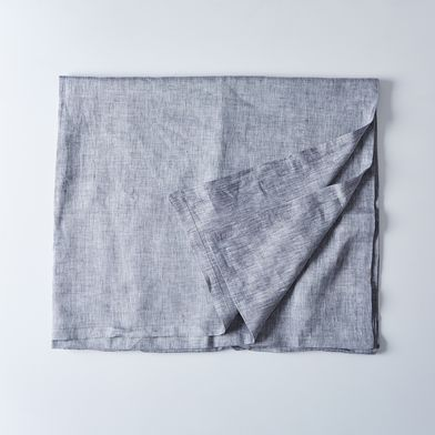 Gray Linen Tablecloth