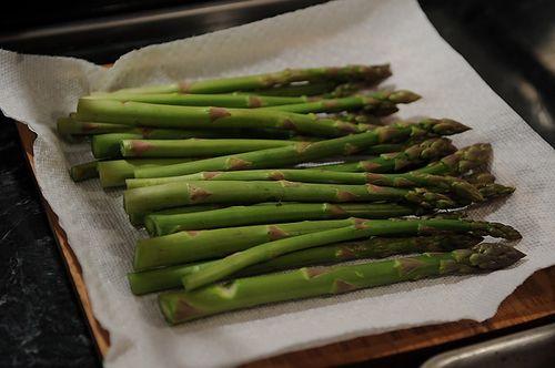 Asparagus with Pancetta