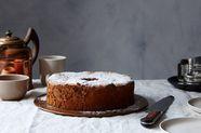 Passover Chocolate Nut Sponge Cake