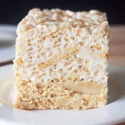 Golden Oreo Rice Krispies Treats