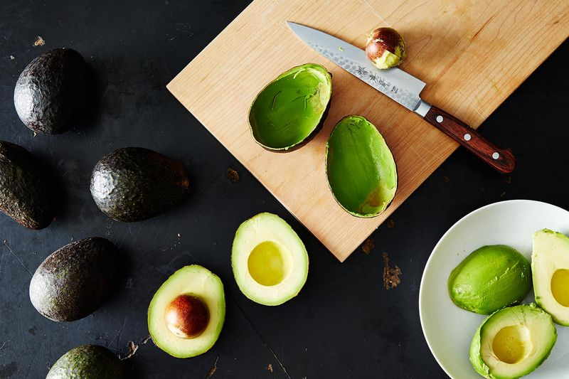 Three seconds later, these perfect avocados turned brown.