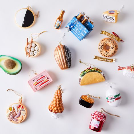Vintage-Inspired Food Ornaments