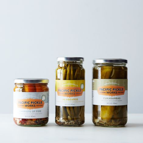 Pacific Pickle Works Trio