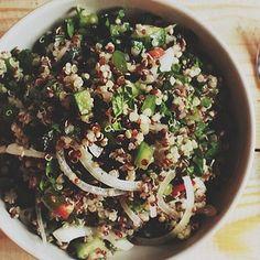 Best Detox Yet Filling Quinoa Salad
