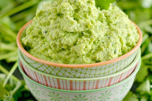 Herby Edamame Hummus