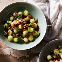This Crispy Prosciutto & Juicy Melon Salad Is Summer at Its Finest