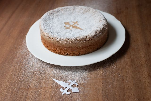 Tarta de Santiago (Almond Cake) from Food52