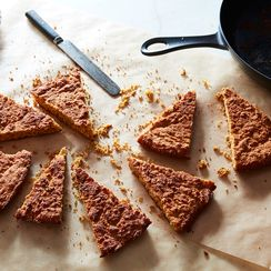 Sesame–Brown Butter Cornbread