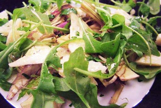 Artichoke Salad with Walnut Dressing