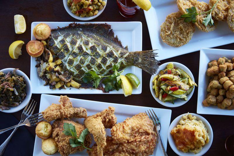 Gullah cuisine, South Carolina's crowning gem.