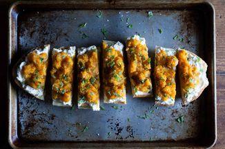 Abc Kitchen S Butternut Squash On Toast Recipe On Food52