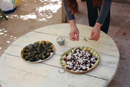 Beetroots with Feta and Greek Oregano