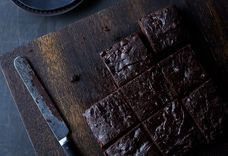 Chocolate Brownies With Tofu