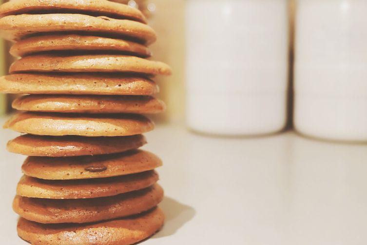 Gluten-Free Dairy-Free Chocolate Chip Cashew Butter Cookies
