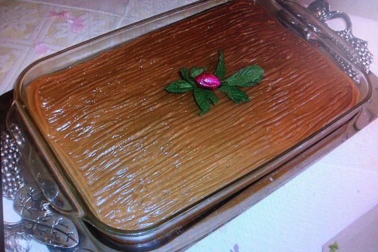 Rum Spiked Quatro (4) Leches (Milk) Cake