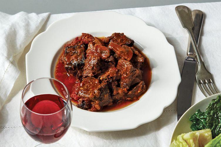 Martha Stewart's Instant Pot Beef Stew With Dijon & Tomato