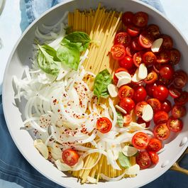 Martha Stewart's 1-pot pasta by Hazel