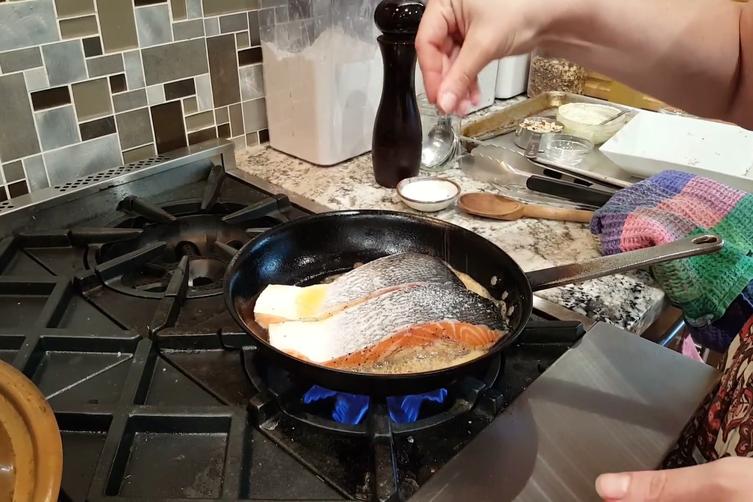 Hazelnut Crunch Salmon