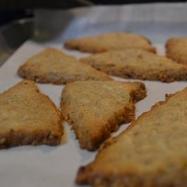 Deirdre's Coconut and sesame shortbread
