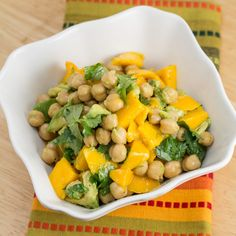 Avocado Mango Lime Chickpea Salad