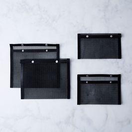 Nonstick Mesh Grilling Bags (Set of 4)