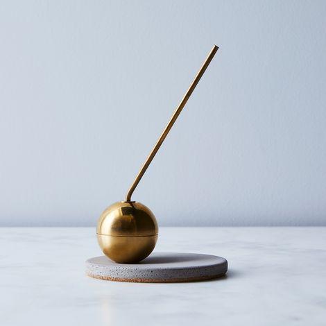 Avandi x Keap Modern Brass Candle Snuffer