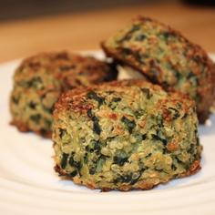 Green Quinoa Patties