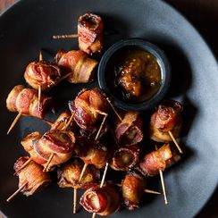 The Elegant Hors d'Oeuvre's Bacon-Wrapped Water Chestnuts