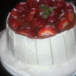 Strawberry Dream pound cake