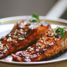 South Indian Tamarind Glazed Salmon