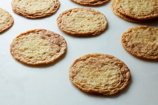 Thin, Chewy Snickerdoodles