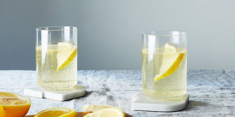 A Lemon and Sherry Spritzer for a pick-me-up kind of day