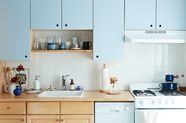 A DIY Kitchen Cabinet Makeover (Even if You're Renting)