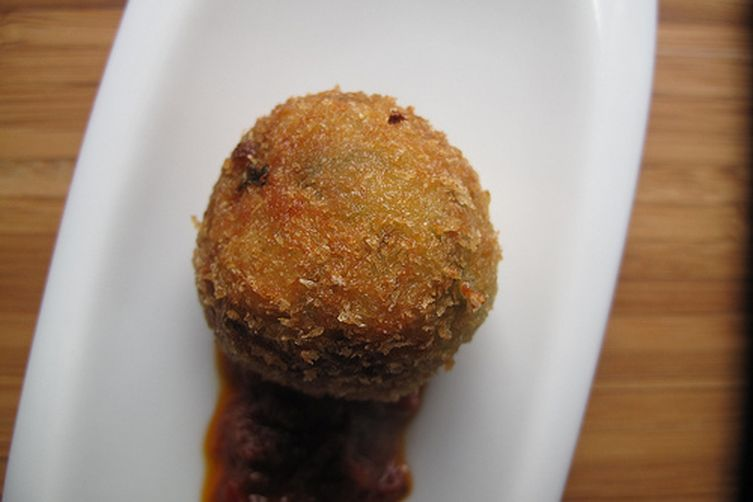 how to make arancini with leftover rice