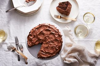 Vegan Chocolate Birthday Cake With Super Fluffy Frosting