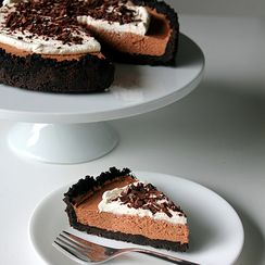 French chocolate silk pie