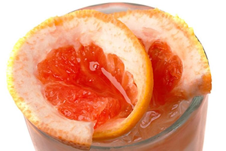 Grapefruit Pick-Me-Up Smoothie