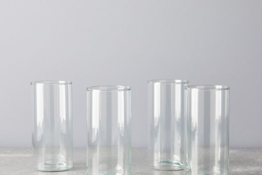 Handblown Recycled Glassware (Set of 4)