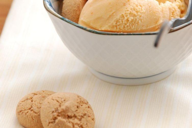 Apricot-Basil Ice Cream