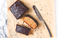 Two-Serving Banana Cake with Chocolate-Peanut Butter Frosting
