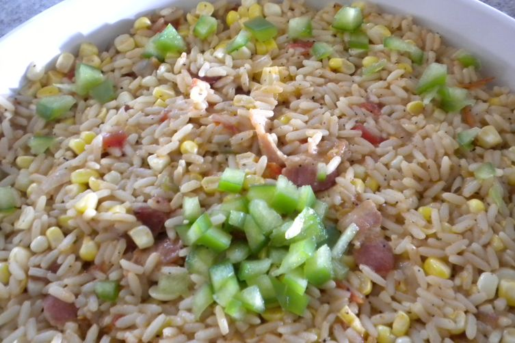 Cajun Corn and Rice