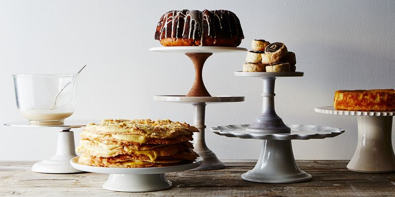 The leftmost cake, oozing (in a good way) with pastry cream