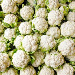 Raw Cauliflower Salad with Raisins and Nuts