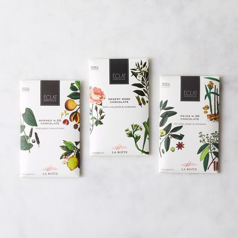 Spiced Infused Chocolate Bar (Set of 3)