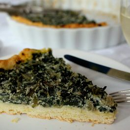Swiss Chard and Anchovies Pie